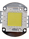 DIY 100W High Power 8000-9000LM Cool White Light Integrated LED Module (32-35V)