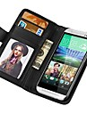 Wallet Style PU Leather Case for HTC One M8 With Stand Fuction