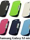 vormor® conception depoli boucle magnetique cas complet du corps pour Samsung Galaxy Mini i8190 (couleurs assorties)