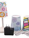 Creativity Plastic USB LED Night Light (Include 1 Power Adapter & 1 USB Data Line &5 Waterproof Shade)