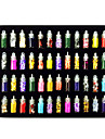 48PCS Mixs Estilo Decoracoes Nail Art Suit