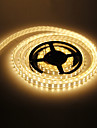 Vanntett 5M 144W 600x5050SMD Warm White Light LED Strip lampe (DC 12V)