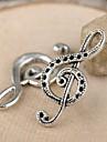 eruner®32 * encantos 15 milímetros liga de notação de música pingentes jóias diy (10pcs)