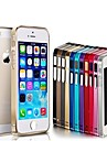 Slim Thin Metal Aluminum Bumper Frame Case for iPhone 5/5S(Assorted Colors)