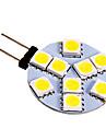 3W G4 LED Bi-pin Lights 9 SMD 5050 130-180 lm Cool White DC 12 V