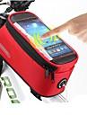 ROSWHEEL® 자전거 가방 #(1.5)L자전거 프레임 백 / 휴대 전화 가방 방수 / 빠른 드라이 / 먼지 방지 / 착용할 수 있는 / 터치 스크린 싸이클 가방 PVC / Terylene 싸이클 백Samsung Galaxy S19 /