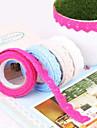 Ткань шнурка Ткань Альбом ленты (случайный цвет)