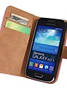 Genuine Leather Full Body Case with Strap and Sticker for Samsung Galaxy Ace 3 S7270 S7272 S7275
