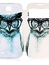 CaseBox® Owl Pattern Full Body Case with Window for Samsung Galaxy S4 I9500