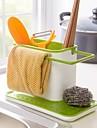 Пластиковая подставка для хранения кухонных принадлежностей