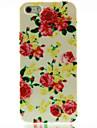 Для Кейс для iPhone 5 С узором Кейс для Задняя крышка Кейс для Цветы Твердый PC iPhone SE/5s/5
