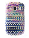 Dazzle Geometrical Pattern PC Hard Case for Samsung Galaxy 6810