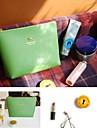 Cute Bowknot Design PU Leather Change Purses (Random Color x1pcs)