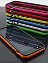 DF Dual Color Frame TPU Soft Case for iPhone 5/5S(Assorted Color)