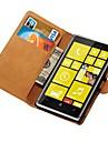 노키아 루미아 925에 대한 정품 가죽 지갑 케이스는 신용 카드 홀더 새로운 도착 스탠드