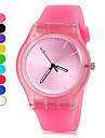 Women\'s Watch Simple Style Candy Color Silicone Band