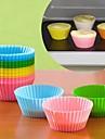 конфеты цвет силиконовые испечь торт пресс-формы 6шт (ассорти цветов)