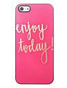 Enjoy Today Design Aluminium Hard Case for iPhone 5/5S