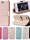 DF гладкой шелковой картины с карты мешок пу полном случае тела для IPhone 5с (разных цветов)