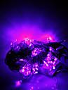 10M 100 LEDs Christmas Halloween decorative lights festive strip lights-Common purple string lights (220V)