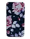 Elegante Padrão Flor dura do diamante para iPhone 4/4S