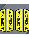 Много автомобиль дверь открыта светоотражающие наклейки предупреждение согласия пешеходов безопасному вождению эффекты каждого автомобиля необходимую