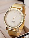 Dames Dress horloge Kwarts Legering Band Goud Merk-