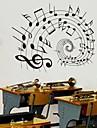 doudouwo® seinä tarroja seinätarrat, musiikki kaunis muistiinpanot pvc seinä tarroja
