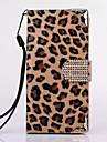 HHMM Leopard Grain PU leather for iPhone 6 plus Case 5.5 Inch(Assorted Colors)