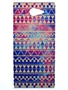 Delicate Chromatic Stripe Transparent Pattern PC Hard Case for Sony Xperia M2 S50h