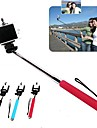 DF® 110 CM Extendable Telescopic Monopod Selfie Mobile Phone Holder  for iPhone 6 (Assorted Colors)
