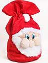 Natal Papai Noel de veludo bolsa saco de presentes doces
