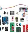 kit d\'apprentissage du systeme de RFID w / uno etape r3 moteur module RFID rfid carte a puce rfid trousseau ic base pour Arduino