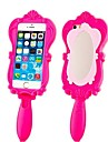 Novelty Barbie Capsule Collection Mirror Silicone Rubber Back Cover for iPhone 5/5s(Assorted Colors)