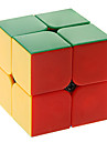 Magic Cube IQ Cube Qiji Two-layer Smooth Speed Cube Magic Cube puzzle ABS