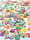 300PCS Mixed Style Fimo Slice Fruit Series Nail Art Decoration