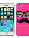 Rose Le Moustache & Glasses Hard Plastic Case Cover for iPhone 6 Plus