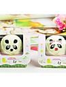 подарок на день рождения панды форма волокна творческой полотенце (случайный цвет)
