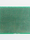 fibra de vidro da placa do PWB prototipo dupla-face para arduino (7 x 9 centimetros)