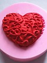 Heart Shaped Fondant Cake Chocolate Silicone Mold Cake Decoration Tools,L4.8cm*W4.8cm*H1.2cm