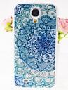 fleurs de zircon motif en relief au dos du boîtier pour les i9500 Samsung Galaxy S