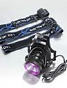 Iluminacao Lanternas de Cabeca LED 2500 Lumens 3 Modo Cree XM-L U2 18650.0 Prova-de-Agua / RecarregavelCampismo / Escursao /