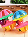 Cat Toy Dog Toy Pet Toys Interactive Squeaking Toy Bell Dumbbell Plastic