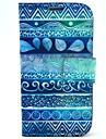 Para Samsung Galaxy Capinhas Com Suporte / Flip / Estampada Capinha Corpo Inteiro Capinha Estampa Geometrica Couro PU Samsung S4