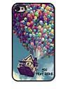персонализированные телефон случае - воздушный шар дизайн корпуса металл для iPhone 4 / 4s