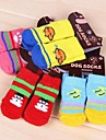 Cat Dog Socks Casual/Daily Keep Warm Winter Spring/Fall Cartoon Multicolor Cotton