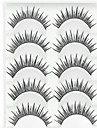 Eyelashes lash Eyelash Natural Long Volumized Natural Fiber
