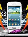 protetor de tela final choque de absorcao para Samsung Galaxy S3 mini-i8190n (3 pecas)