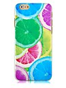 Colorful Lemon Pattern Hard Back Case for iPhone 6 Plus