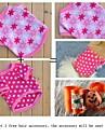 Dog / Cat Shirt / T-Shirt Pink Winter Polka Dots / Floral / Botanical Wedding / Cosplay